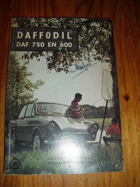 Daffodil DAF 750 en 600. Technische gegevens en praktische wenken