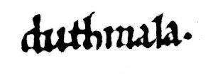 Logo Duthmala