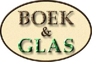 Logo Boek en Glas