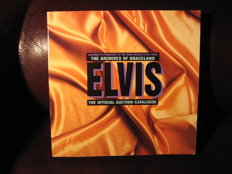 Presley, Elvis - The official auction featuring items from the archives of Graceland.