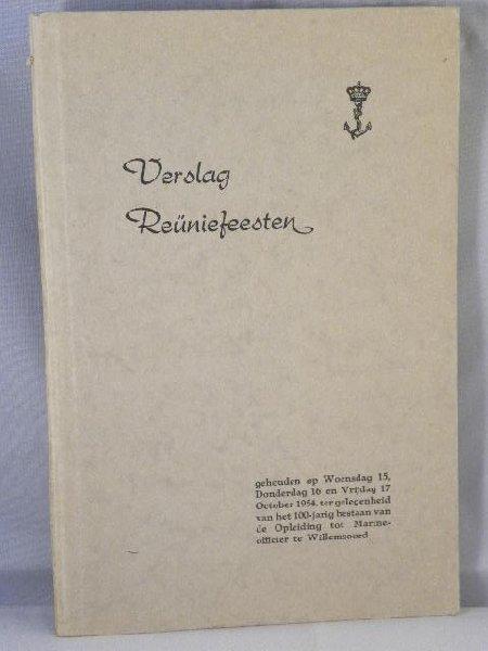- Verslag Reüniefeesten Willemsoord