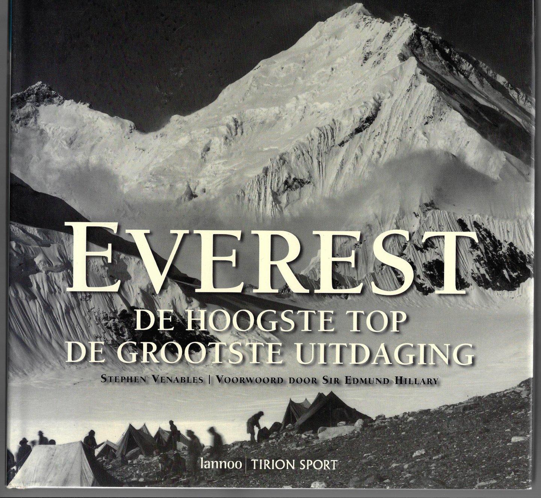 VENABLES, STEPHEN - Everest -De hoogste top De grootste uitdaging