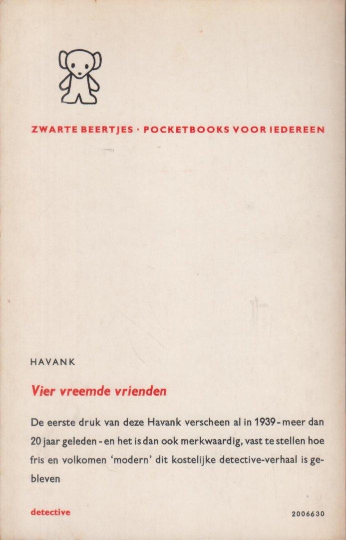 Havank (Hans van der Kallen) - Vier vreemde vrienden