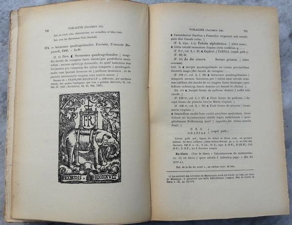 Castan, Auguste - Catalogue des Incunables