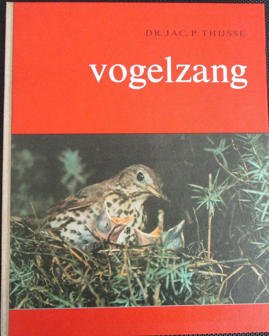 Thijsse, Jac. P. - Vogelzang  - Manuscript daterend van 1938, uitgegeven 1965 ter gelegenheid van de honderste geboortedag van Jac. P. Thijsse
