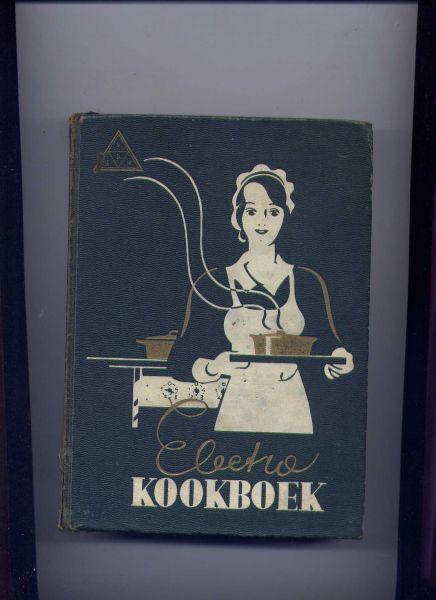 HOLL, MEJ. H.M.S.J. DE (samensteller) & R. LOTGERING-HILLEBRAND (voorwoord) - Electro Kookboek