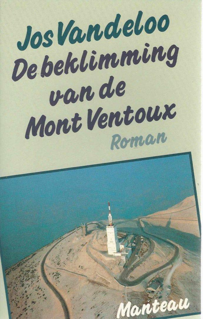 VANDELOO, JOS - De beklimming van de Mont Ventoux