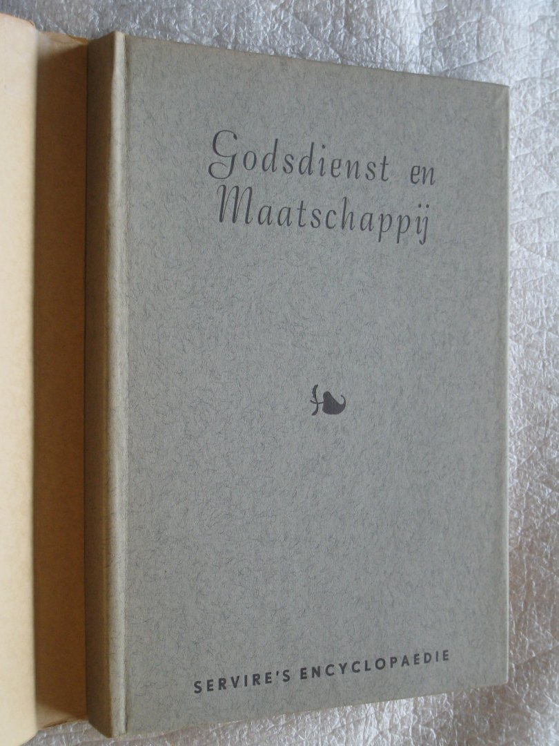Vermooten, Dr.W.H. en Vries, Drs. W. de - Godsdienst en maatschappij een inleiding in de godsdienstsociologie