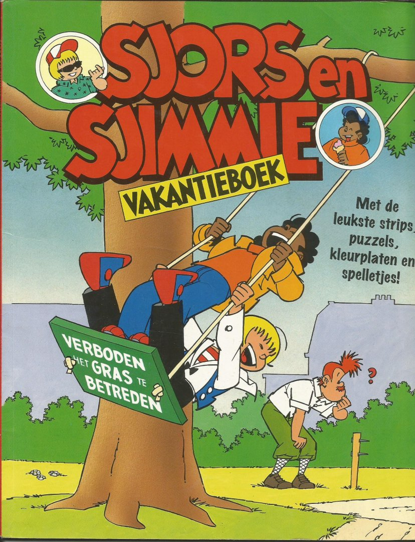 diverse - Sjors en Sjimmie vakantieboek 1995