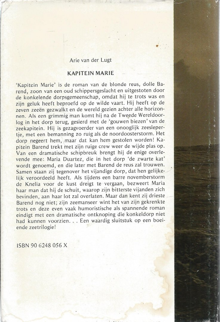 Lugt, Arie van der - KAPITEIN MARIE