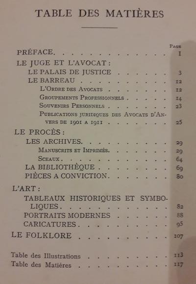 Schmalzigaug, Walter (samenstelling) ; Dumercy, Charles (inleiding) - Conférence du Jeune Barreau d'Anvers.