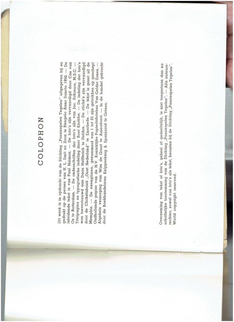 haimon, paul ( inleidende tekst ) - passie spelen tegelen (foto,s van cas van os te rotterdam onderschriften foto,s jac schreurs )