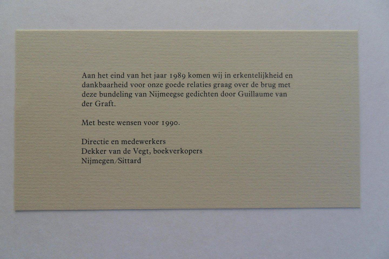Boekwinkeltjesnl Graft Guillaume Van Der Over De Brug