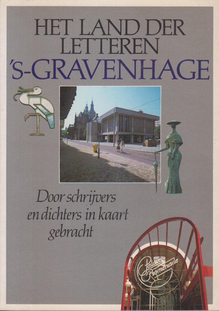 Hermans Harry Scholten en Lodewijk van Zonneveld, Harry - Het land der letteren. s-Gravenhage en Scheveningen  Door schrijvers en dichters in beeld gebracht.
