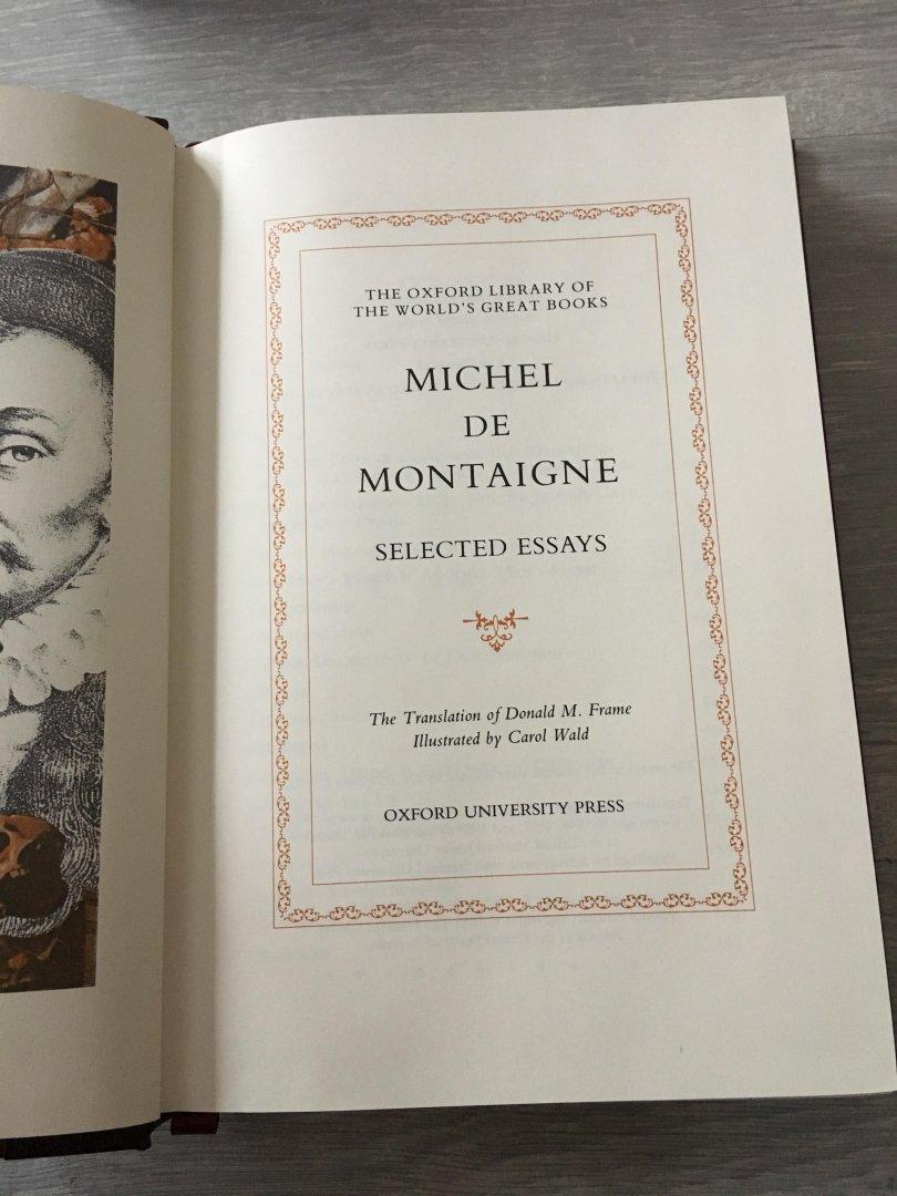 Boekwinkeltjes.nl - The World\'s Greatest Books; Michel de montaigne ...