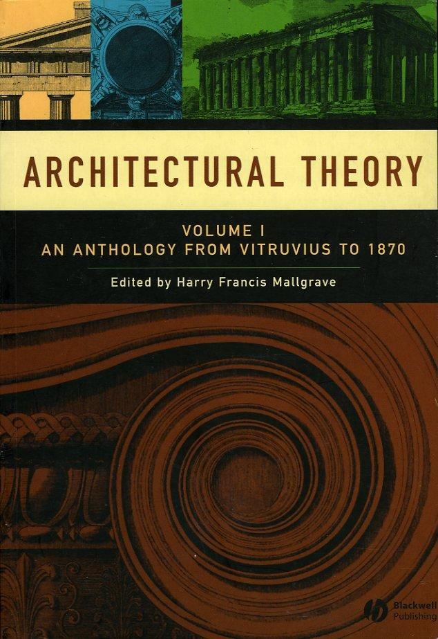 Architectural Theory. Volum...