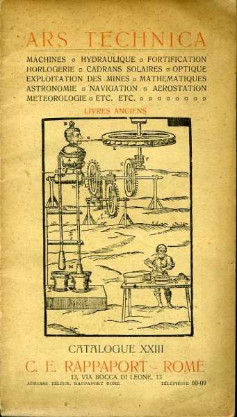 Ars Technica. Livres Ancien...