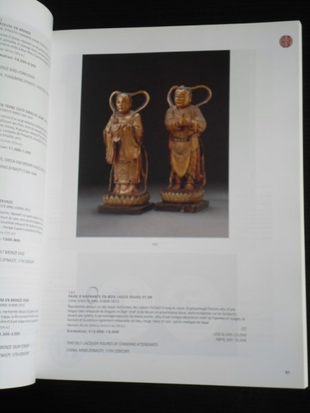 Catalogus Christie's - Art d'Asie