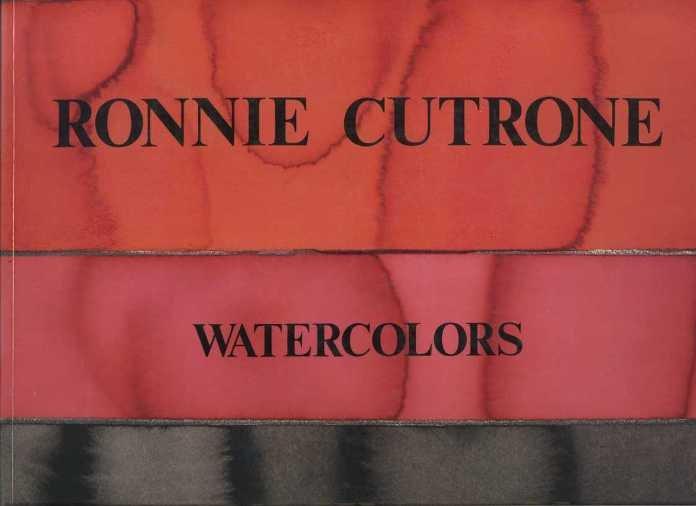Cutrone, Ronnie - Ronnie Cutrone. Watercolors Illuminations.
