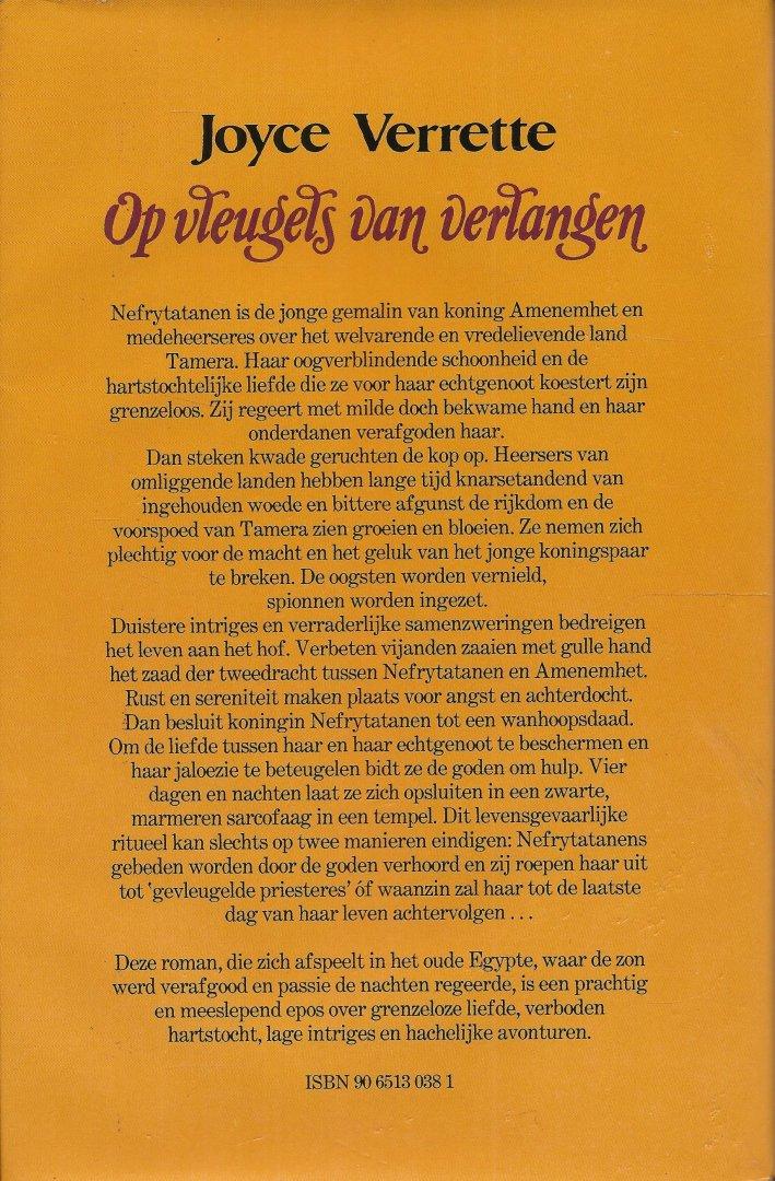 Verrette, Joyce - OP VLEUGELS VAN VERLANGEN