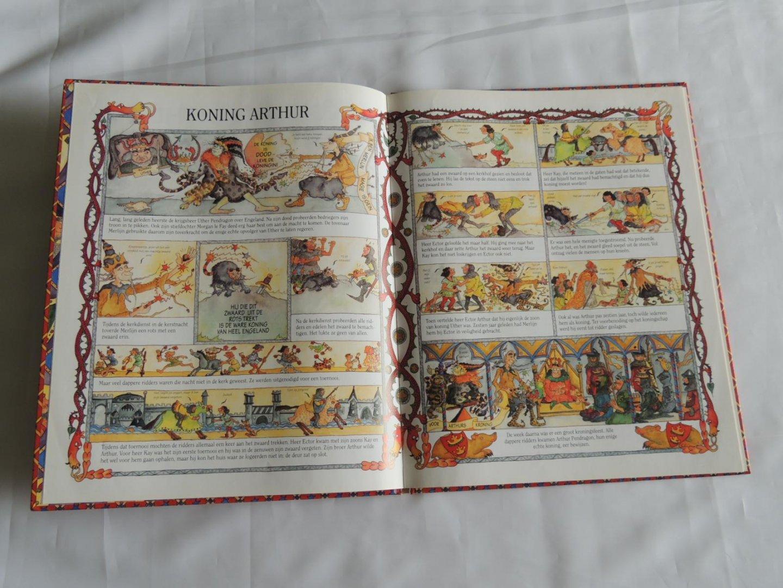 Ronde Tafel Koning Arthur.Boekwinkeltjes Nl Williams Marcia Koning Arthur En De Ridders