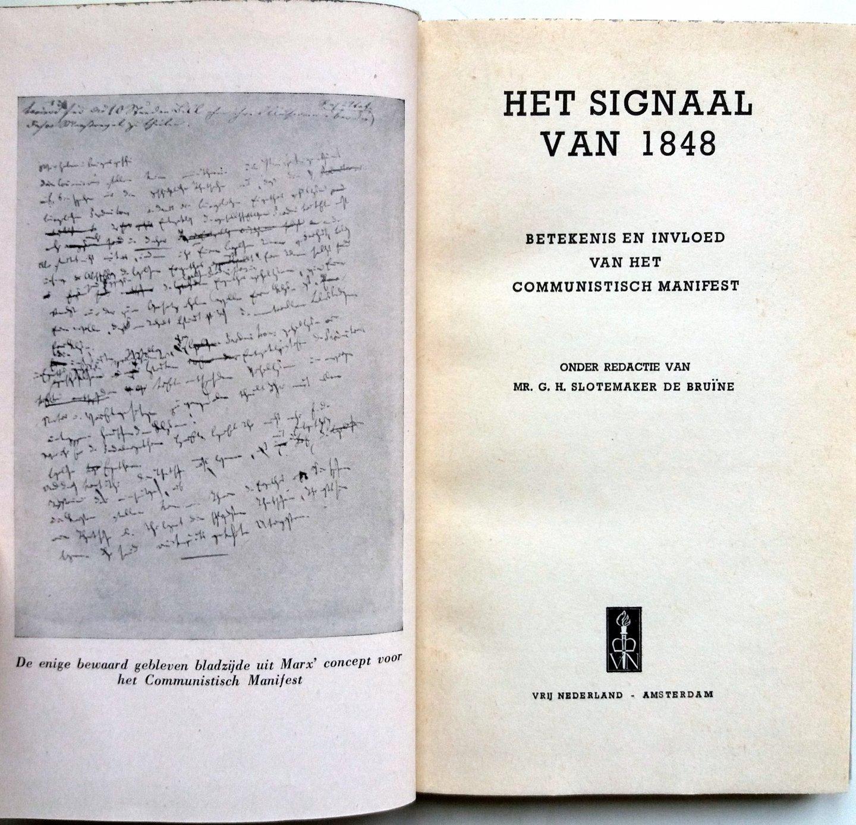 Boekwinkeltjesnl Het Signaal Van 1848 Betekenis En