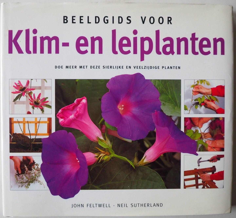 Feltwell John. ill. Sutherland Neil - Beeldgids voor Klim- en leiplanten Doe meer met deze sierlijke en veelzijdige planten