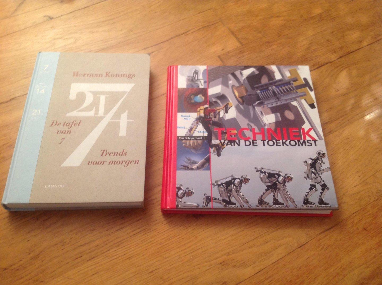 De Tafel Van 7.Boekwinkeltjes Nl Herman Konings De Tafel Van 7 Trends Voor