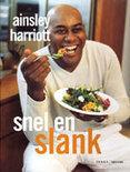 Harriott , Ainsley . [ isbn 9789058971180 ] - Snel   &   Slank . ( Harriott Ainsley's slanke keuken: een maximum aan smaak, een minimum aan calorieën. Net als de recepten uit de bestseller Ainsley Harriott's Snelle keuken, zijn de gerechten snel en makkelijk te maken. -