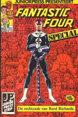 Junior Press - Fantastic Four Special nr. 08,  geniete softcover, goede staat