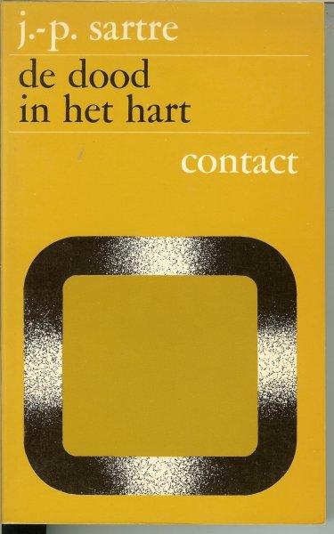 SARTRE JEAN-PAUL vertaald door M.MOK met bandontwerp van Tessa Fagel - DE DOOD IN HET HART .. de wegen der vrijheid III