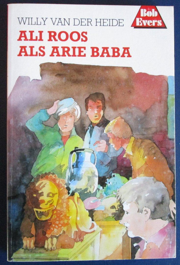 Van der Heide, Willy - Bob Eversserie nr. 29 - Ali Roos als Arie Baba