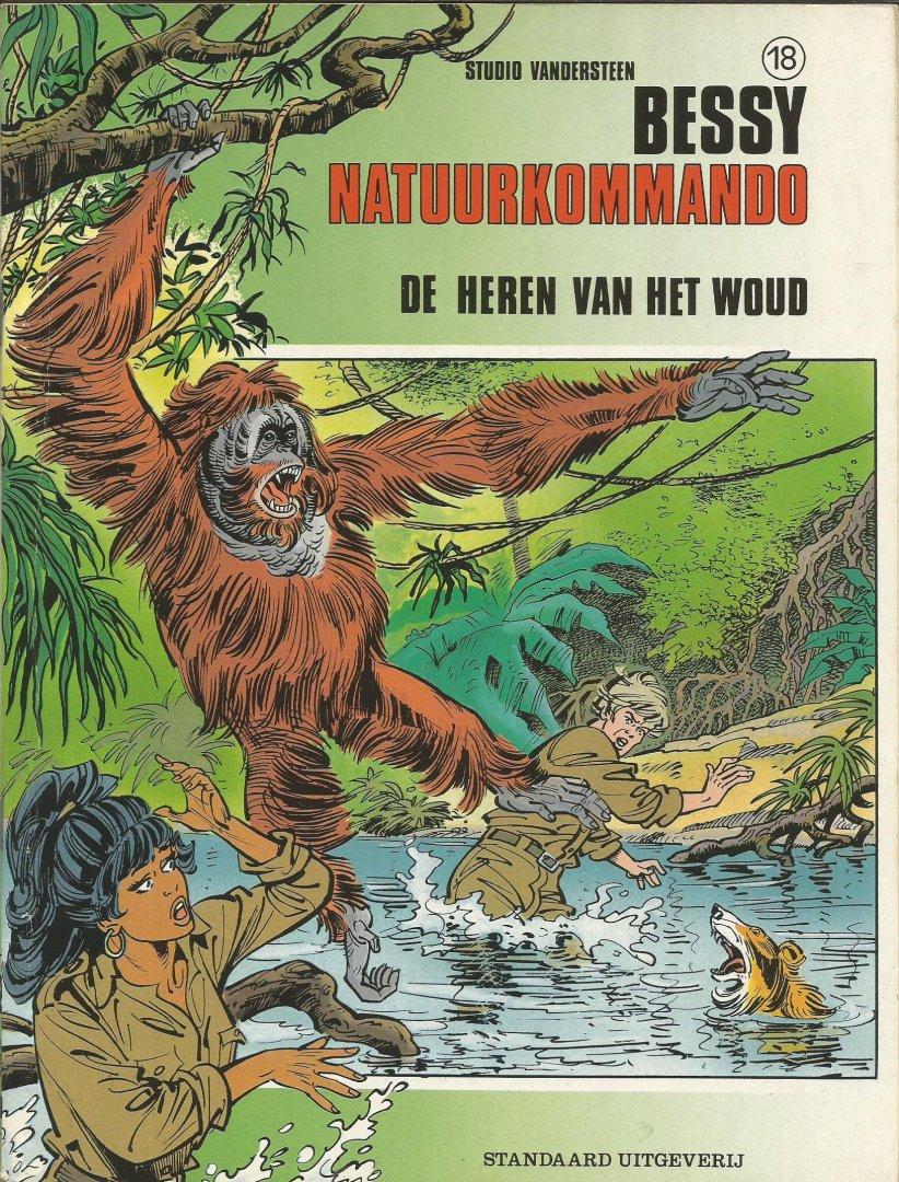 Broeckx / Meul - Bessy Natuurkommando 18 - De heren van het woud