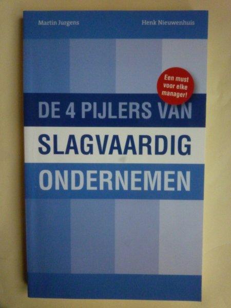 Jurgens Nieuwenhuis - De 4 pijlers van slagvaardig ondernemen