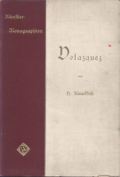 Knackfuss, H. - Velazquez. Mit 46 Abbildungen [tekst DU]