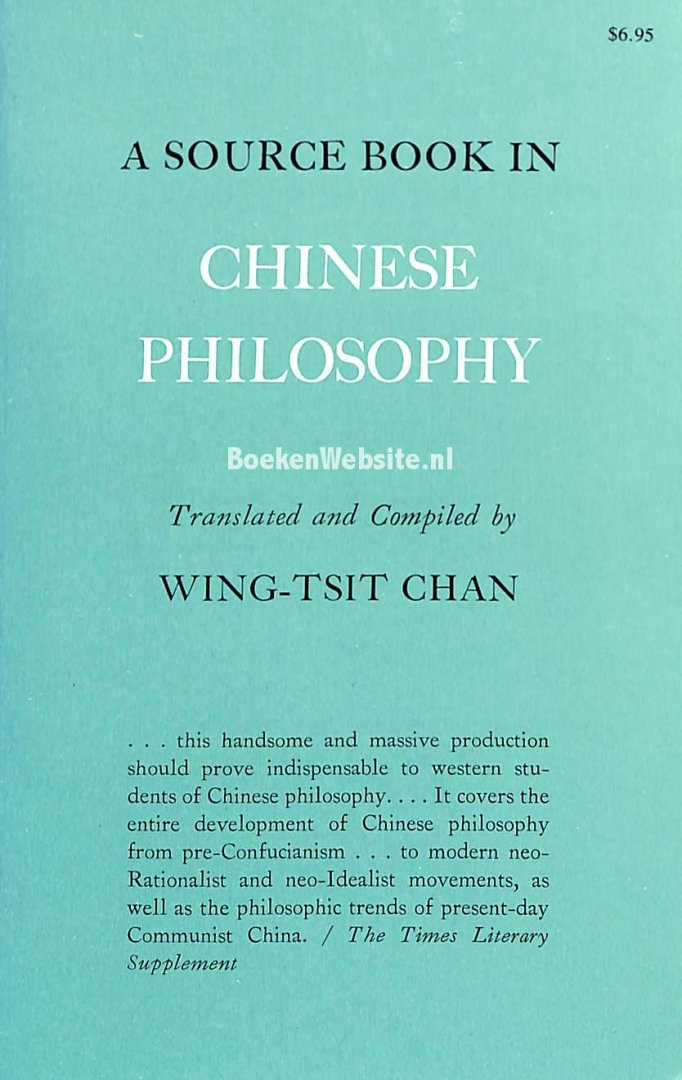 Chan, Wing-Tsit - A Source Book in Chinese Philosophy