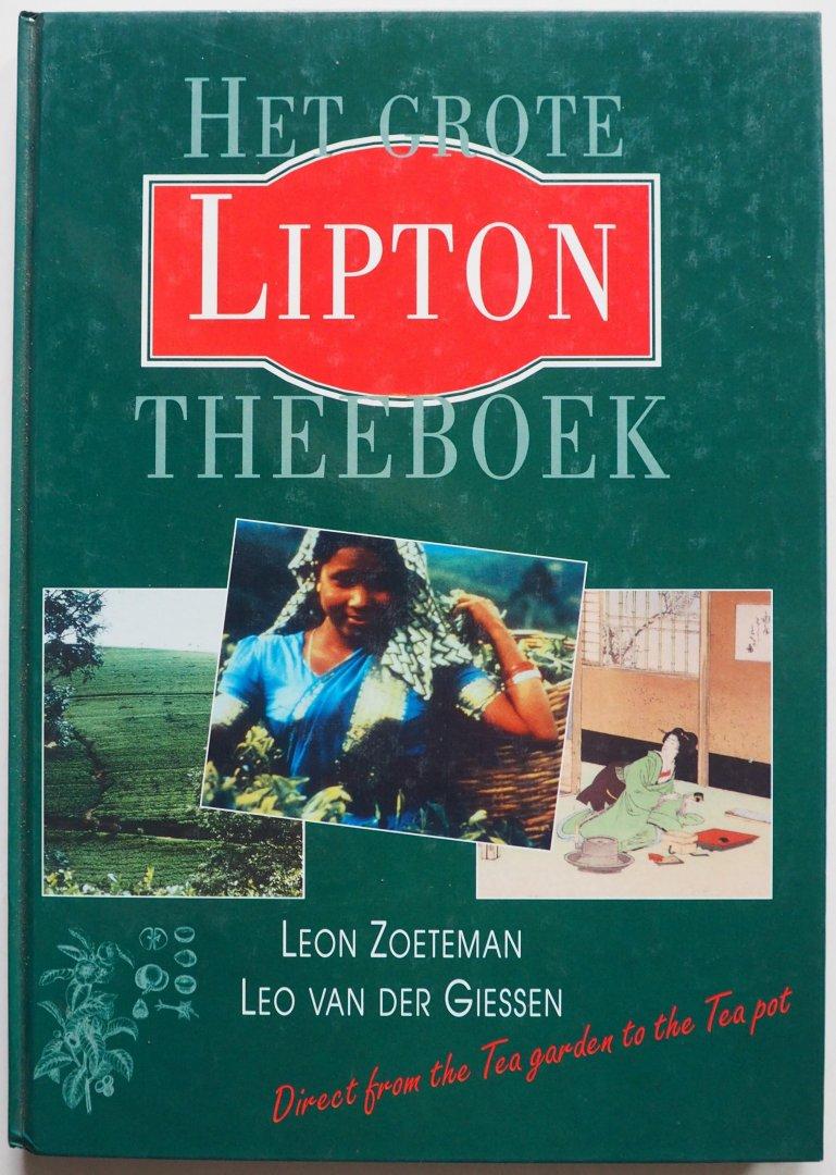Zoeteman,Leon; Giessen, Leo van der - Het Grote Lipton Theeboek