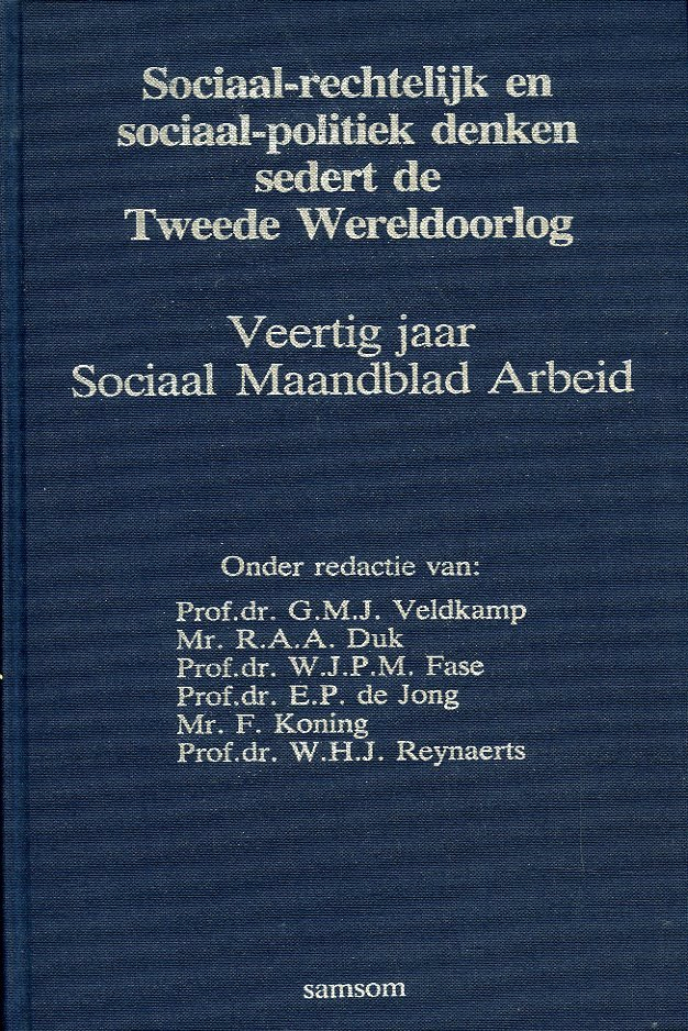 Sociaal-rechtelijk en socia...