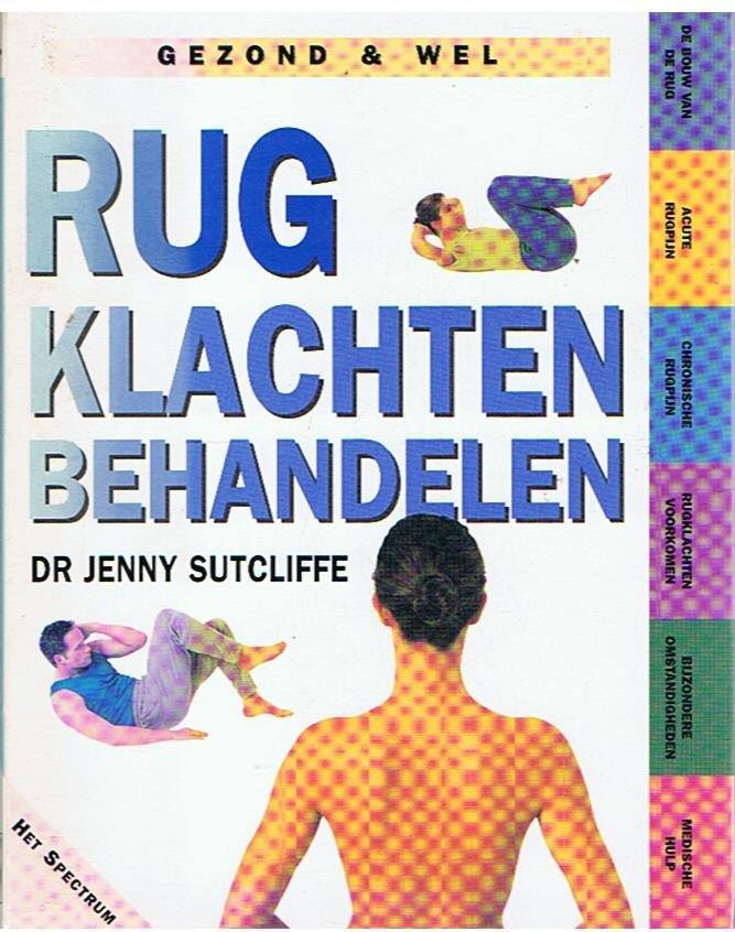 Sutcliffe, Jenny - Rugklachten behandelen