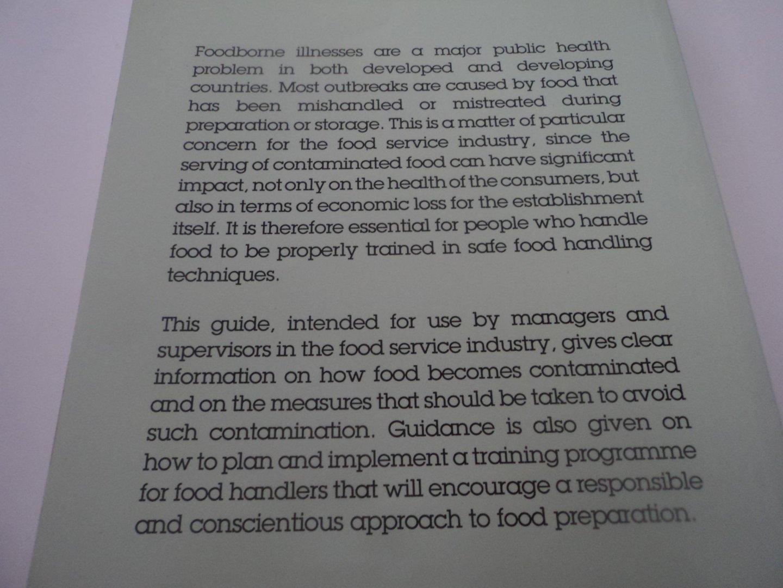 m jacob - Safe Food Handling