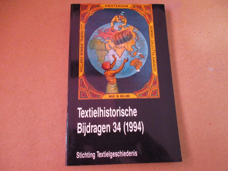 Diederiks. Redactie Dr. H.A. - Textielhistorische Bijdragen / 34 (1994)
