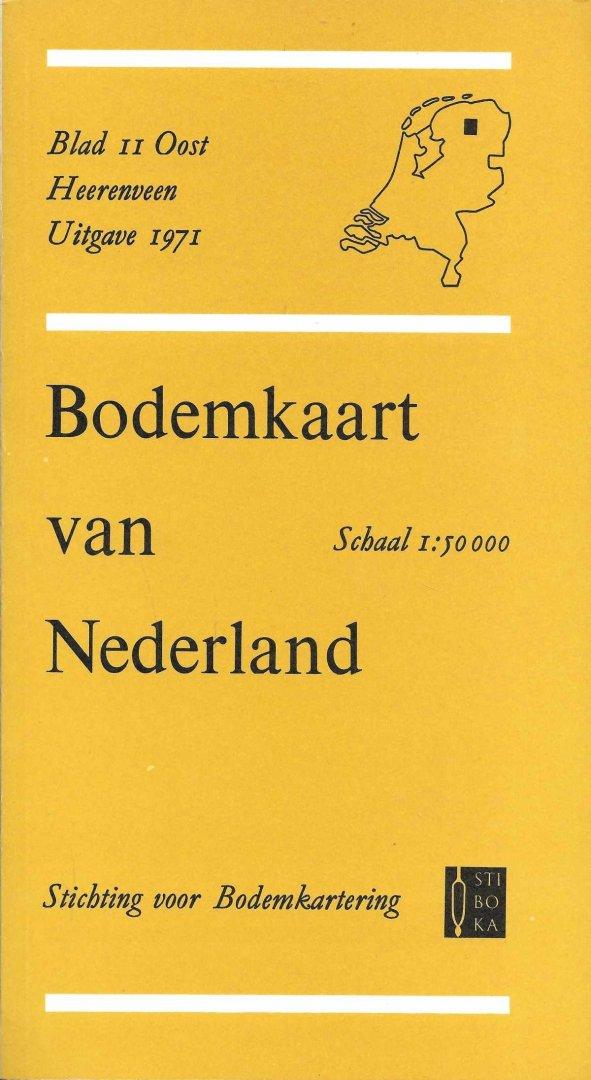 Niet vermeld - Bodemkaart van Nederland Blad II Oost Heerenveen