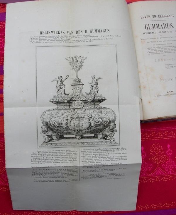 P.Deckers - Leven en eerdienst van den heiligen ridder Gummarus
