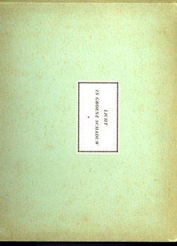 CITROEN, PAUL - Licht in groene schaduw. Poëzie en proza bij teekeningen van Paul Citroen