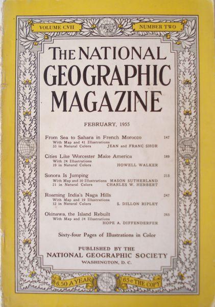 Diverse auteurs - National geographic februari 1955. Vol.CVII : 2