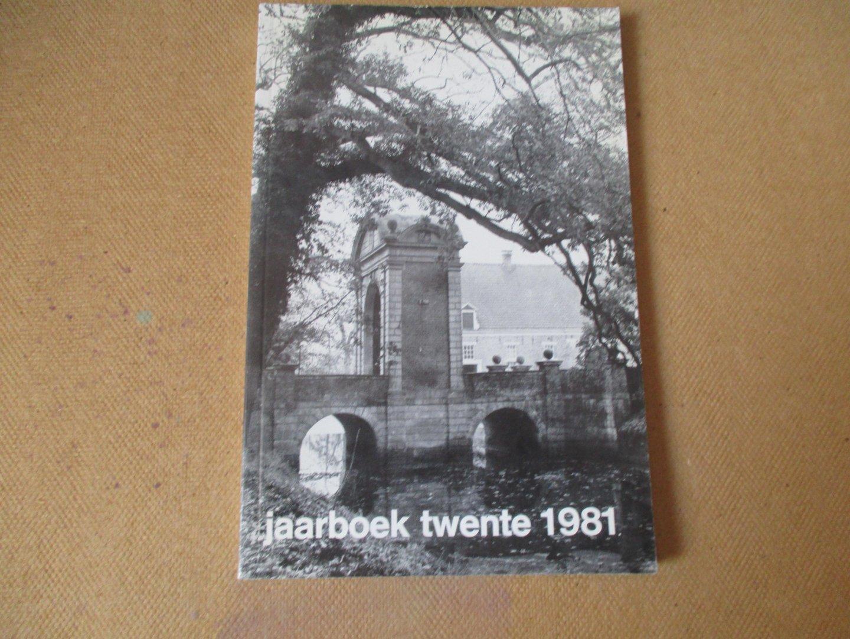 Jaarboek Twente / diverse auteurs - 1981 - Jaarboek Twente - twintigste jaar