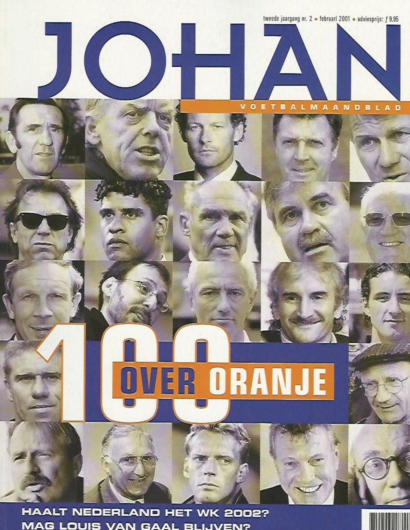 ZANDEN, ROB VAN DER - Johan - Het voetbalmaandblad - 2001