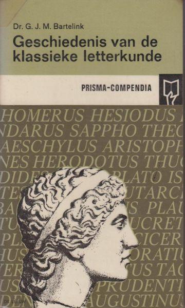 Bartelink, Dr G.J.M. - Geschiedenis van de klassieke lettrekunde