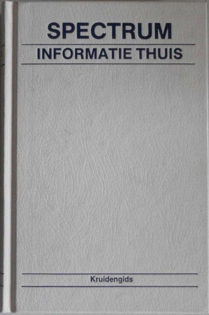 Coenders, Albert - Kruidengids Spectrum Informatie Thuis.