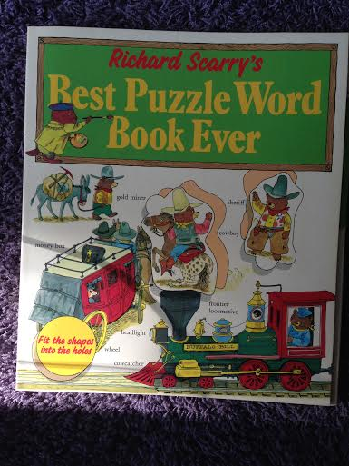 Scarry, Richard - Best world puzzle book ever